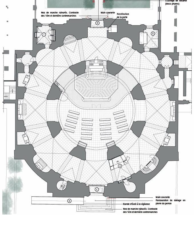 Plan de l'état projeté