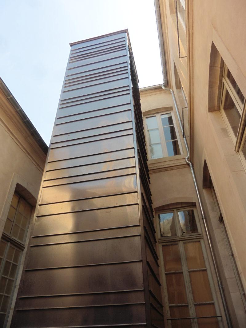 Agence Caillault ACMH – NANCY – Cour d'appel – Ascenseur réalisé