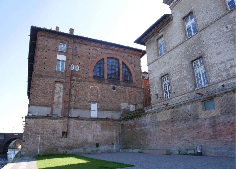 Agence Caillault ACMH – TOULOUSE – Hôtel-Dieu – Pignon nord et bâtiment Baric